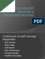 12-Self Concept Response & Dissosiative Disorder
