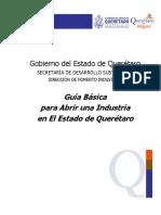 Guía Básica de Trámites Para Abrir Una Industria en Querétaro