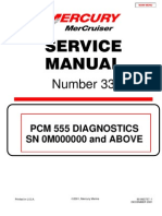 Merc Service Manual 33 Big Block Diagnostics