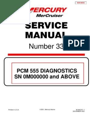 Merc Service Manual 33 Big Block Diagnostics | Ignition System