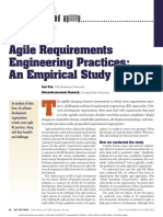 Agile Requirements Eng