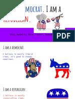 i am a democrat  i am a republican