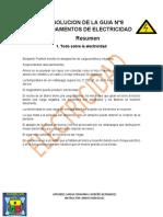 SOLUCION DE LA GUIA N°8 FUNDAMENTOS DE ELCTRICIDAD pdf