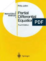 John Fritz Partial Differential Equations 4ed 1982