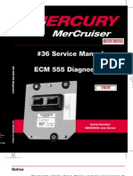 Merc Service Manual 36 Ecm Diagnostics