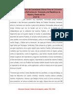 Orientaciones Políticas del Comandante Chávez Firma de Convenios entre la Republica Bolivariana de  Venezuela y las Repúblic