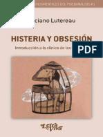 histeria y obsesion.Introduccion a la clinica de las neurosis Luciano lutereau