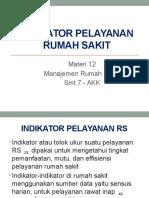 Indikator Pelayanan Rumah Sakit-tm12
