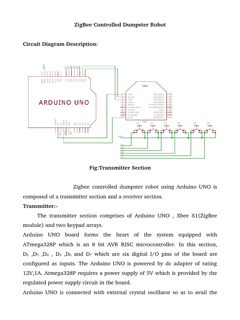 Circuit Diagram Of Zigbee Transmitter Wiring Library Zigb Contrld Dumpster Arduino Block