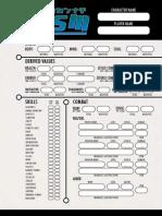 Besm Generic Sheet