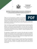 City Planning Commission Testimony Regarding East Midtown Rezoning