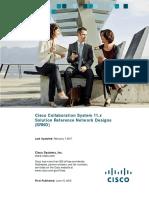 Cisco Collaboration System 11.x - SRND