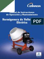 Manual HV400 Electrica