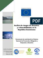 1-Analisis de Riesgos de Desastres y Vulnerabilidad en Rep_Dominicana