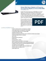 Memoria Tecnica TEG-424WS