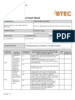 Unit 15- Assignment Brief
