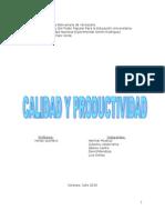 Calidad y Productividad EQUIPO 9 (B)