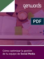 eBook Gestión de Social Media_Genwords