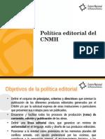 CNMH - Política Editorial.pptx