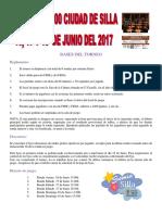 IV Irt Internacional Ciudad de Silla 2017