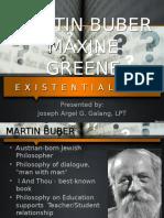 Martin Buber, Maxine Greene
