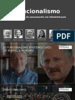 Apresentação Final Epistemologia Funcionalismo