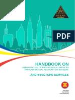 Asean Handbook-Architechture Services - Asean