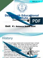 5. UNIT 4 Module Balance Score Card MBM-411