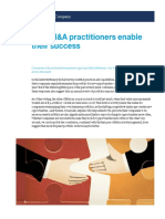 How MA Practitioners Enable Their Success
