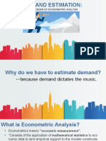 Chap 4 Report - Demand Estimation