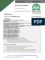 WFSAHQ Tut 333 Sistemas Respiratorios en Anestesia