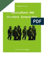 Rodolfo Kusch Geocultura Hombre Americano