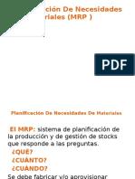 Planificación de Necesidades de Materiales (MRP ).PPT