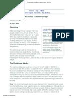 Fundamentals of Relational Database Design -- r937
