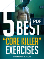 5 Best Core Killer Exercises