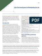 EPP Pesticidas IFAS