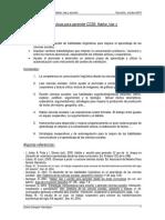 Competencias linguisticas en CCSS