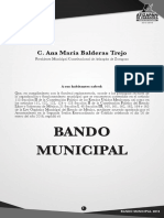 Bando Municipal Atiza