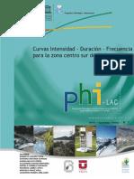 I DF Hidrología Estudio Chile