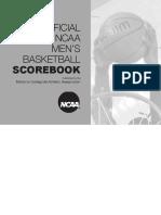 NCAA Men Scorebook