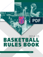 2014-15 Basketball Rule Book