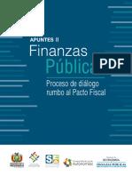 """Apuntes II Finanzas Públicas """"Proceso de Diálogo rumbo al Pacto Fiscal"""""""