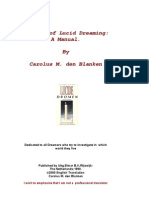 Carolus M. Den Blanken - The Art of Lucid Dreaming - A Manual