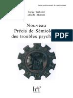 Serge Tribolet, Mazda Shahidi-Nouveau Precis de Semiologie Des Troubles Psychiques