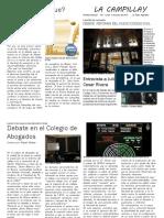 """""""La Campillay"""" Nuevo Codigo Civil y Comercial Jornada 2015"""