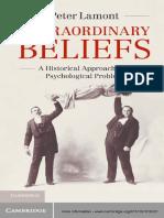 Peter Lamont Extraordinary Beliefs a Historical AP