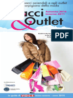 Spacci Outlet 2010 11