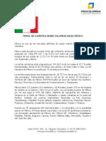 Perfil de Logistica Desde Colombia Hacia Mexico