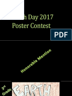 Earth Day Poster Contest _ Honorable Mentions
