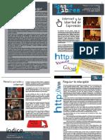 Revista Jornada Internet, intimidad y libertad de expresión. Mayo 2013. Dres Tomeo y Saenz